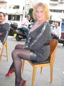 Janie channels Madonna