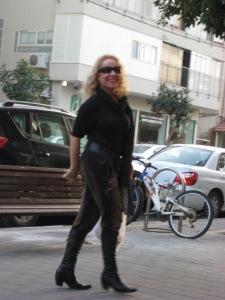 Israeli Idol judge and pop star, Riki Gal