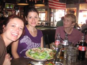 Anna, Leah, Caitlin